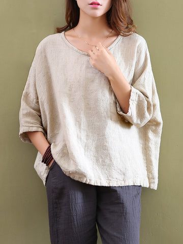 Long Sleeve Simple & Basic T-Shirt