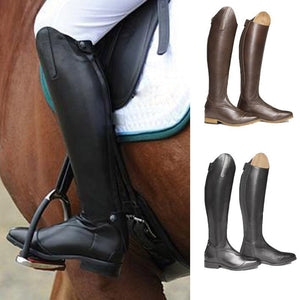 Medieval Knee Female Vintage Mountain Horse High Rider Boots