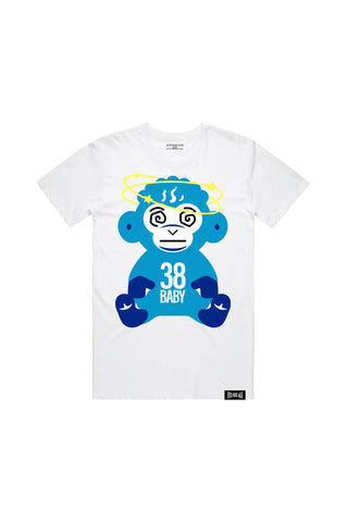 Dazed Monkey T-Shirt - White - QR