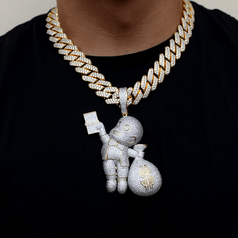 19MM Cuban Link Richie Ritch Set GSG