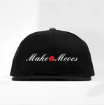 MAKE MOVES ROSE SNAPBACK