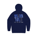 NEVER FOLD NAVY/ FRENCH BLU HOODIE