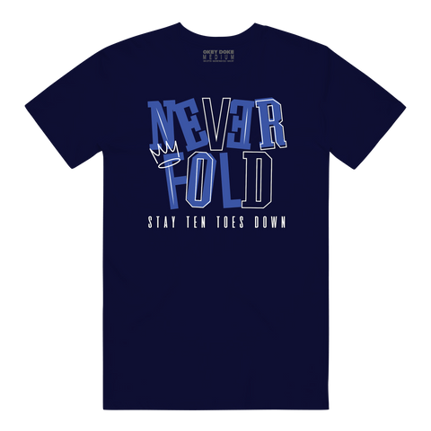 NEVER FOLD NAVY/ FRENCH BLU
