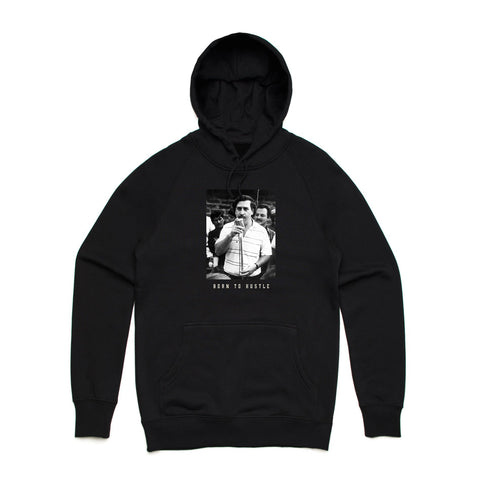 Born To Hustle Speech Hoodie