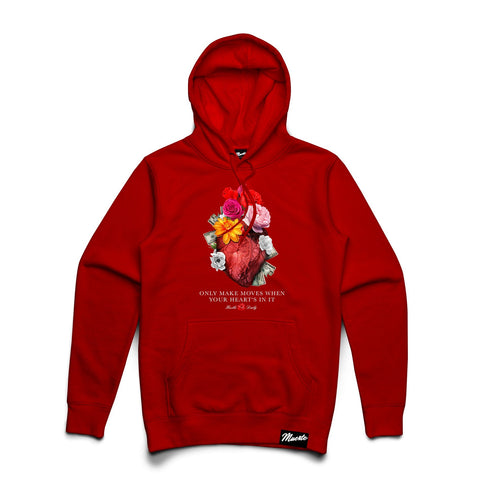 Heart's In It Hoodie Big and Tall