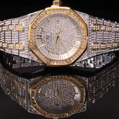Diamond Watch Bust Down CZ V3 GSG