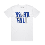 NEVER FOLD ROYAL BLU