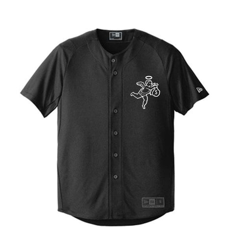 Get Money Angel New Era Jersey -Black