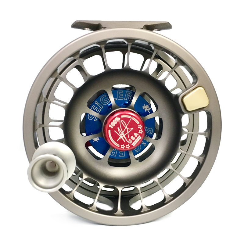 Fly fishing reels, Made in Virginia, fly reel with power handle, fly reel drag system