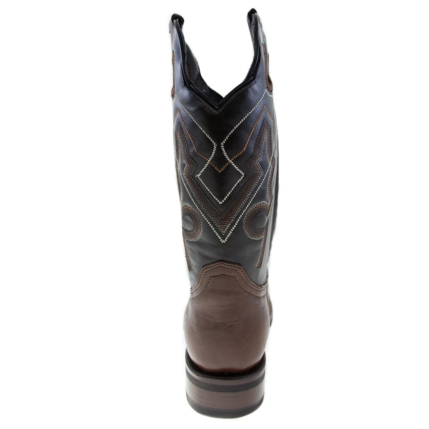 840c1ddf6a7 Men's brown leather western cowboy boot – True Quality Shoes