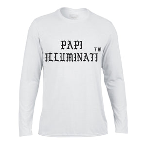 Papi Illuminati long sleeve t-shirt - Litpapi