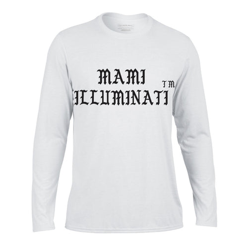 Mami Illuminati long sleeve t-shirt - Litpapi