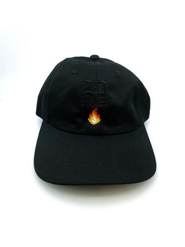 Lit Papi Dad Hat (Black-Out) - Litpapi