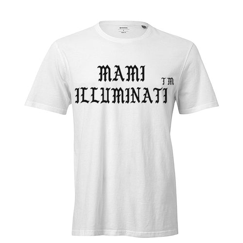 Mami Illuminati short sleeve t-shirt - Litpapi