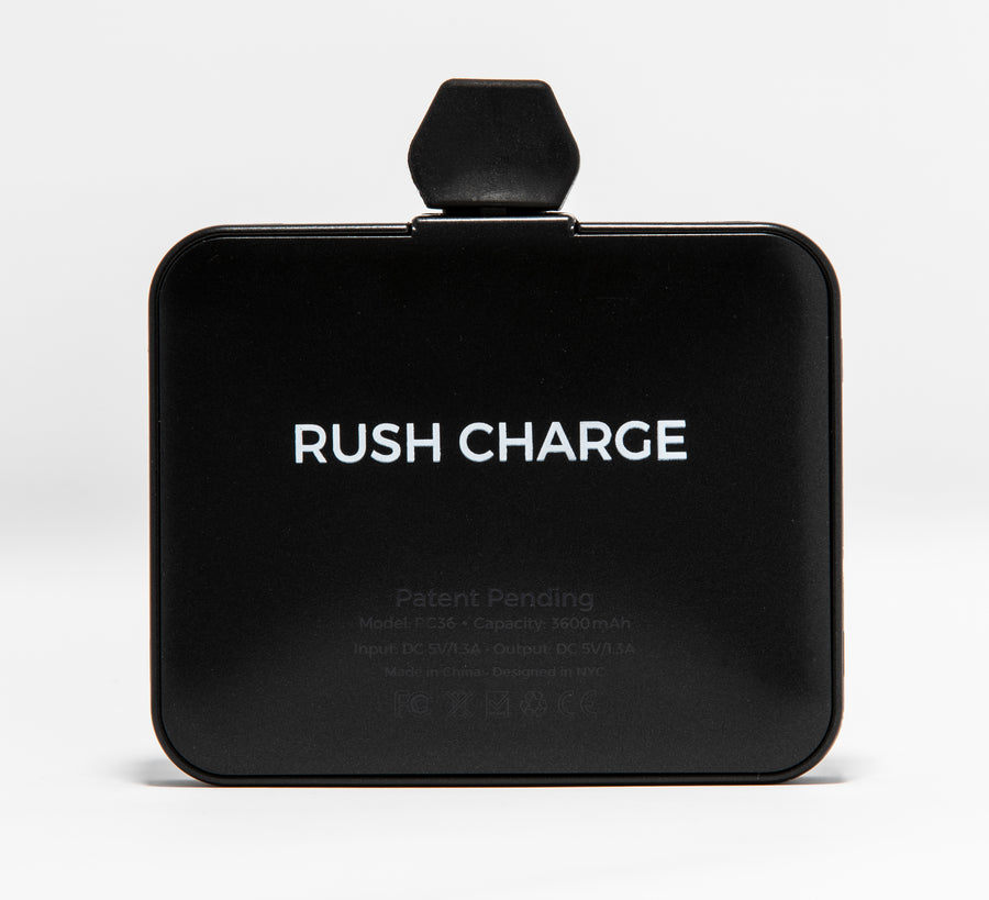Rush Charge Max (Apple Lightning) Battery Pack Black