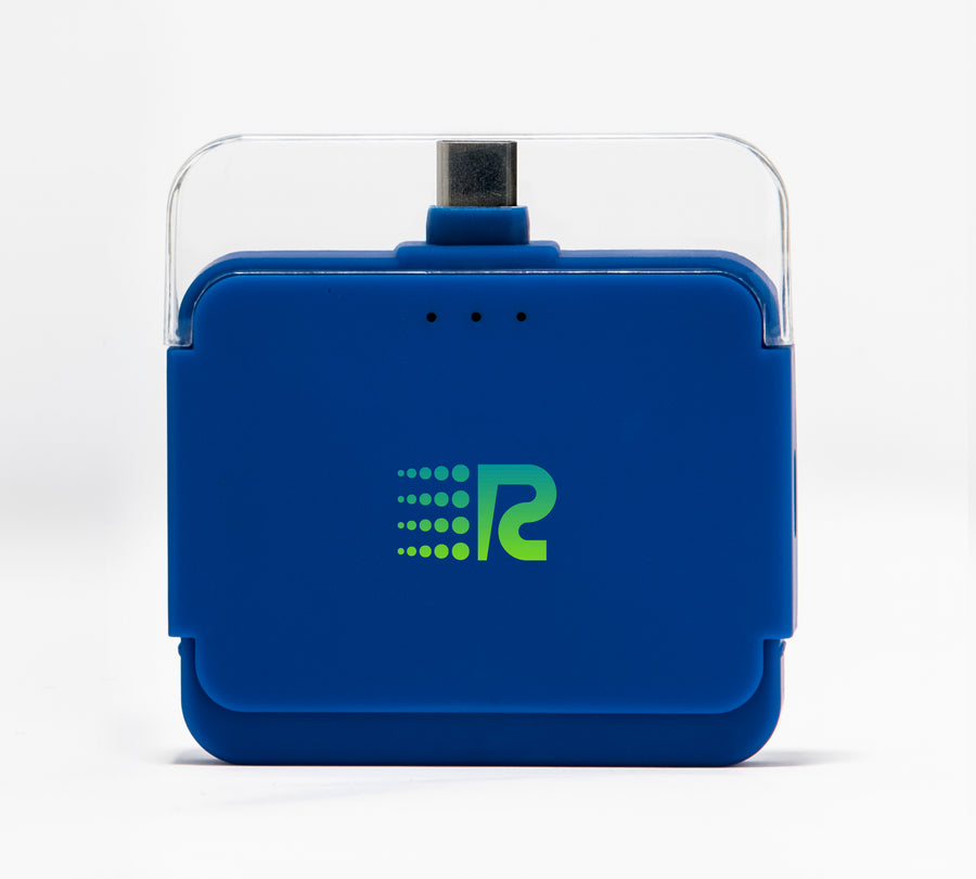 Rush Charge Air (Android USB-C) Battery Pack Blue
