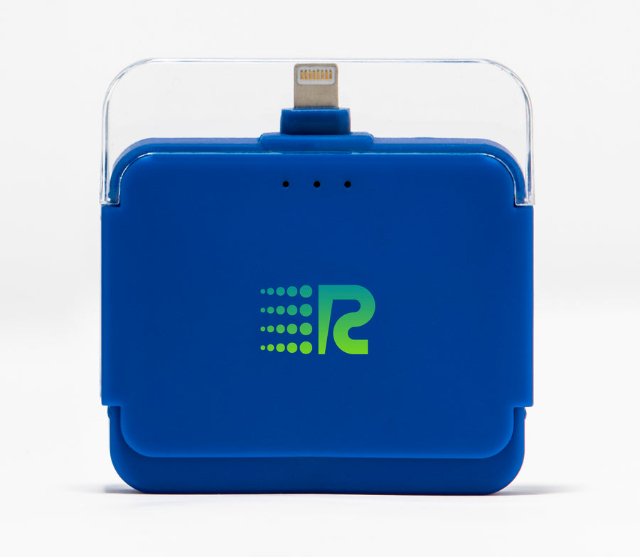 Rush Charge Air (Apple Lightning) Battery Pack Blue