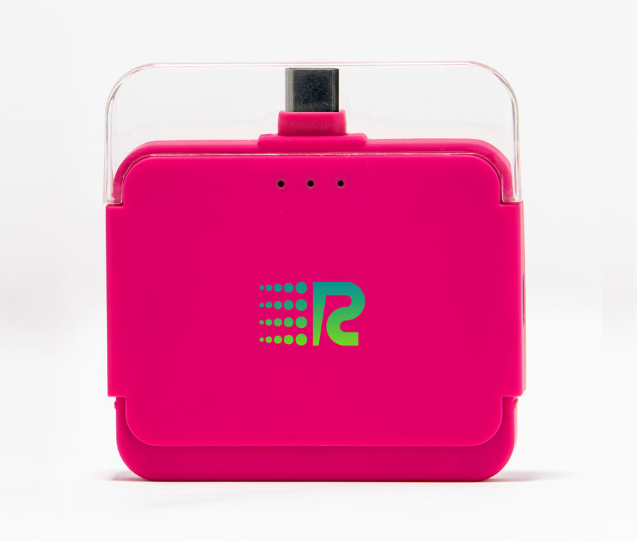 Rush Charge Air (Android USB-C) Battery Pack Pink