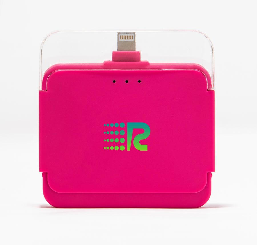 Rush Charge Air (Apple Lightning) Battery Pack Pink