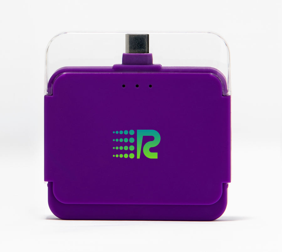 Rush Charge Air (Android USB-C) Battery Pack Purple