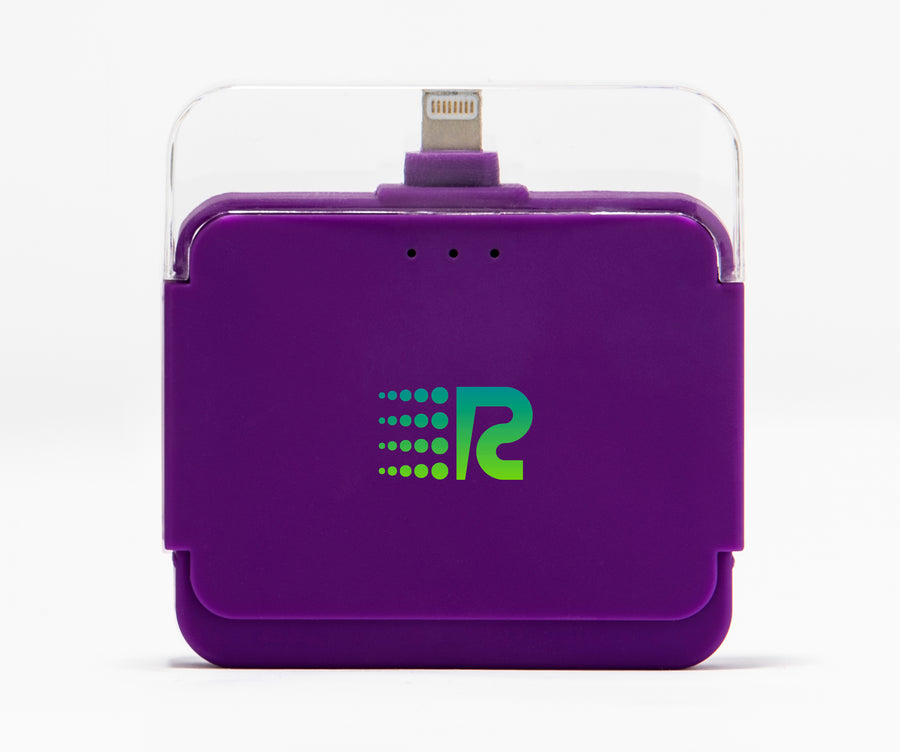 Rush Charge Air (Apple Lightning) Battery Pack Purple