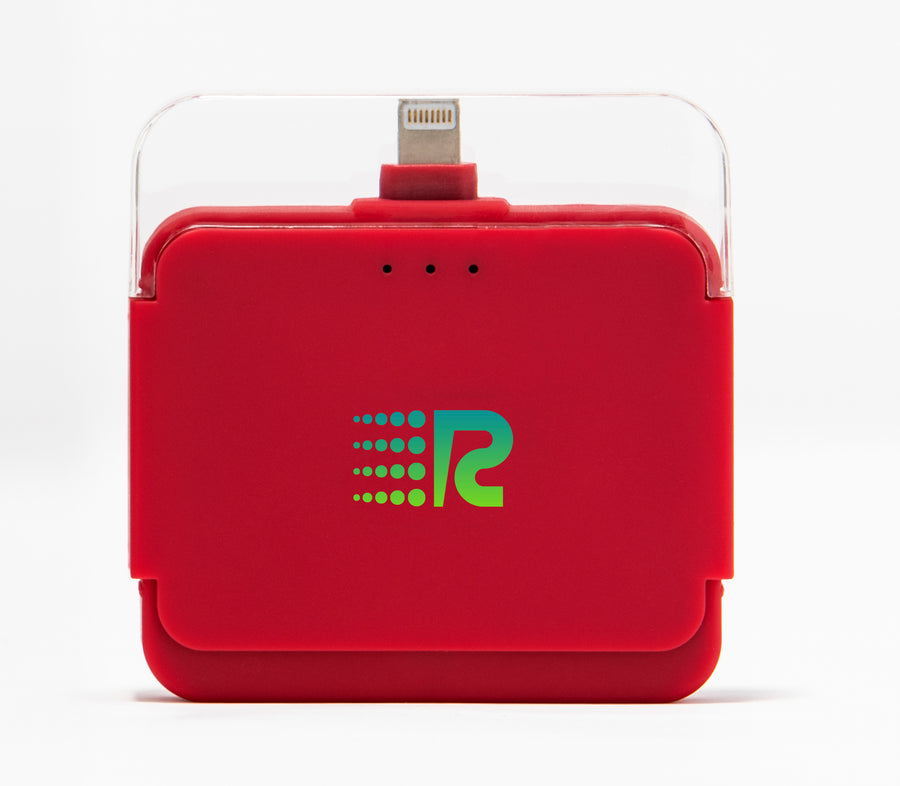 Rush Charge Air (Apple Lightning) Battery Pack Red