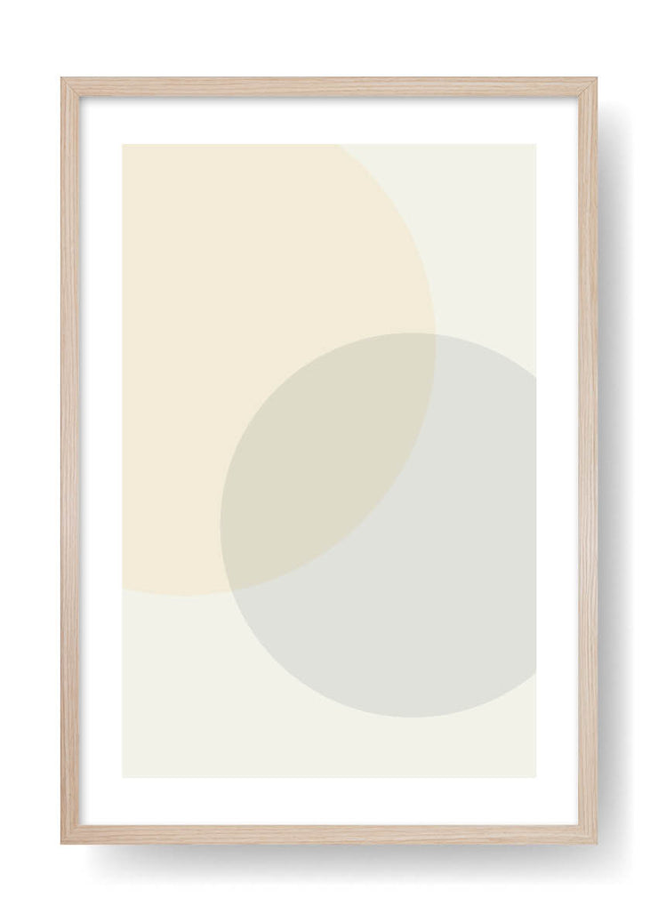 Minimal Yellow Sun Art