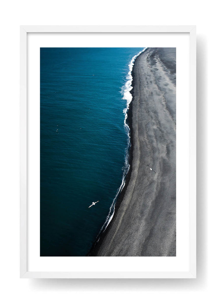 Long Black Sea Coast