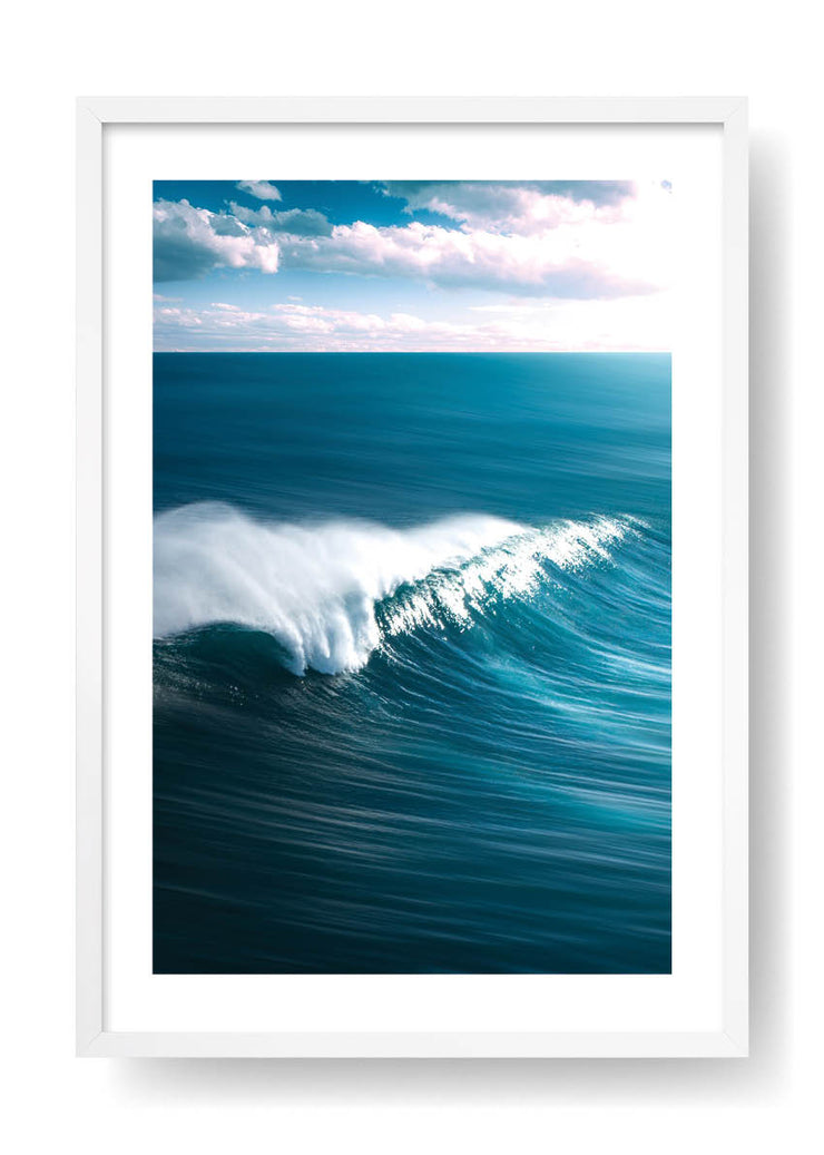 Blue Big Wave