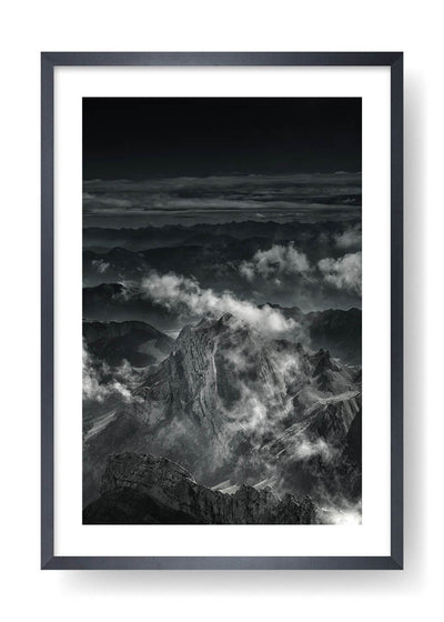 Cloudy Rocky Mountains