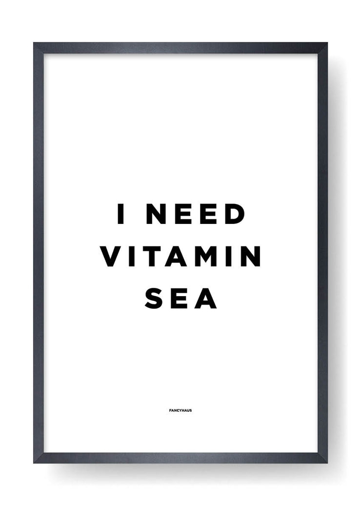 I Need Vitamin Sea