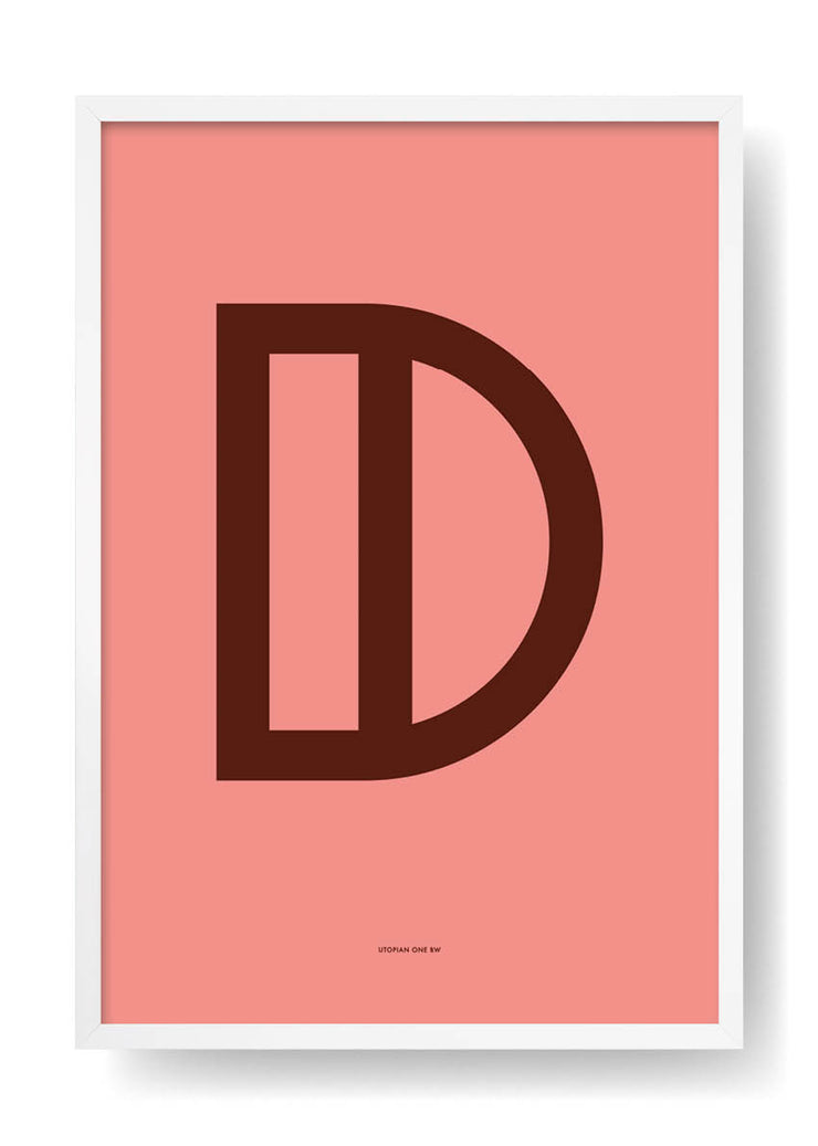 D. Colour Letter Design