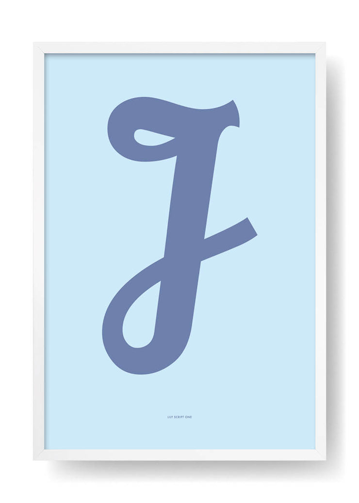 J. Colour Letter Design