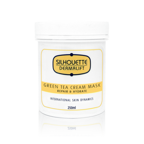 Green Tea Cream Mask - Improves Cellular Activity, Repairs & Hydrates