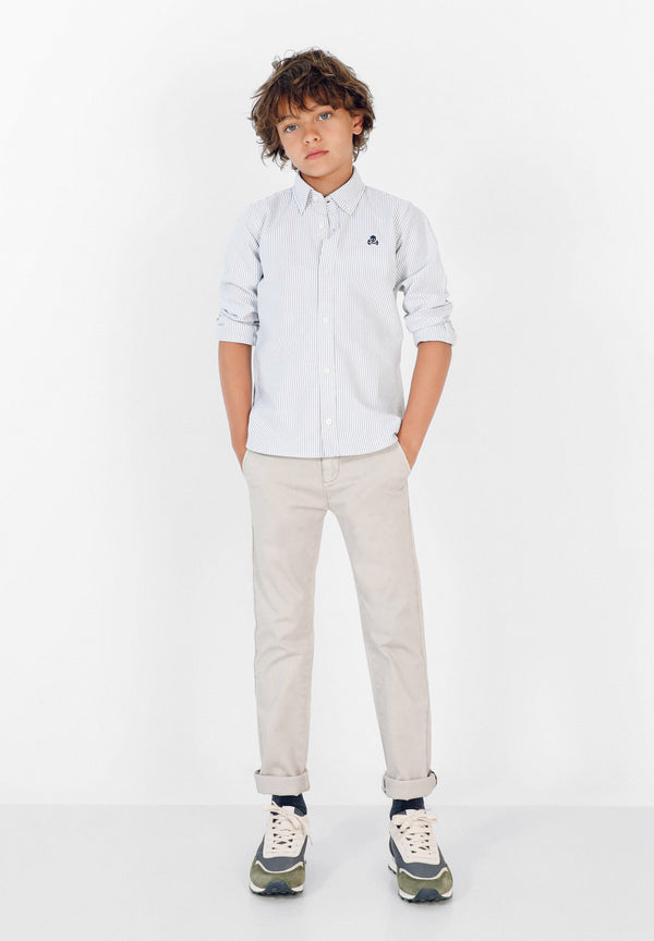 CAMISA RAYAS OXFORD