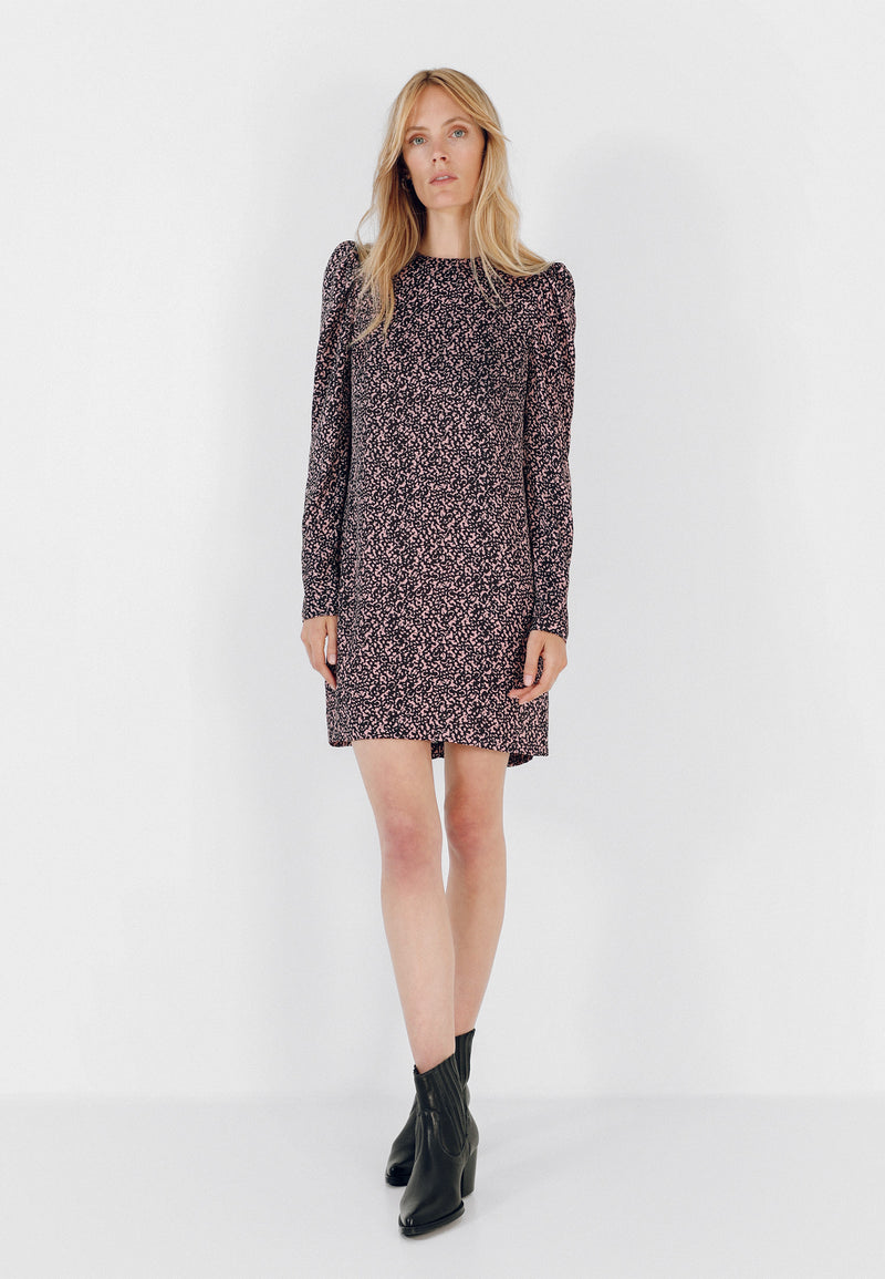 VESTIDO MINI ANIMAL PRINT