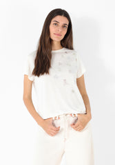 CAMISETA PRINTS MINI TACHUELAS