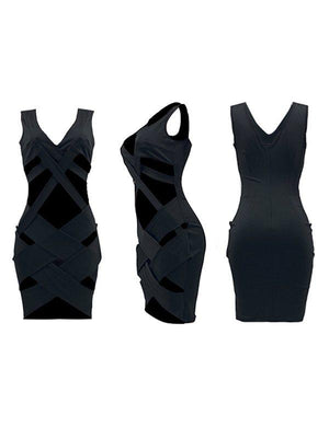 Cutout Bandage Dress
