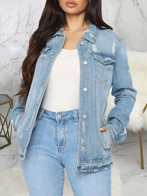 Cartoon Denim Jacket