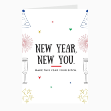 Load image into Gallery viewer, New Year, New You Card - Dearly Divorced