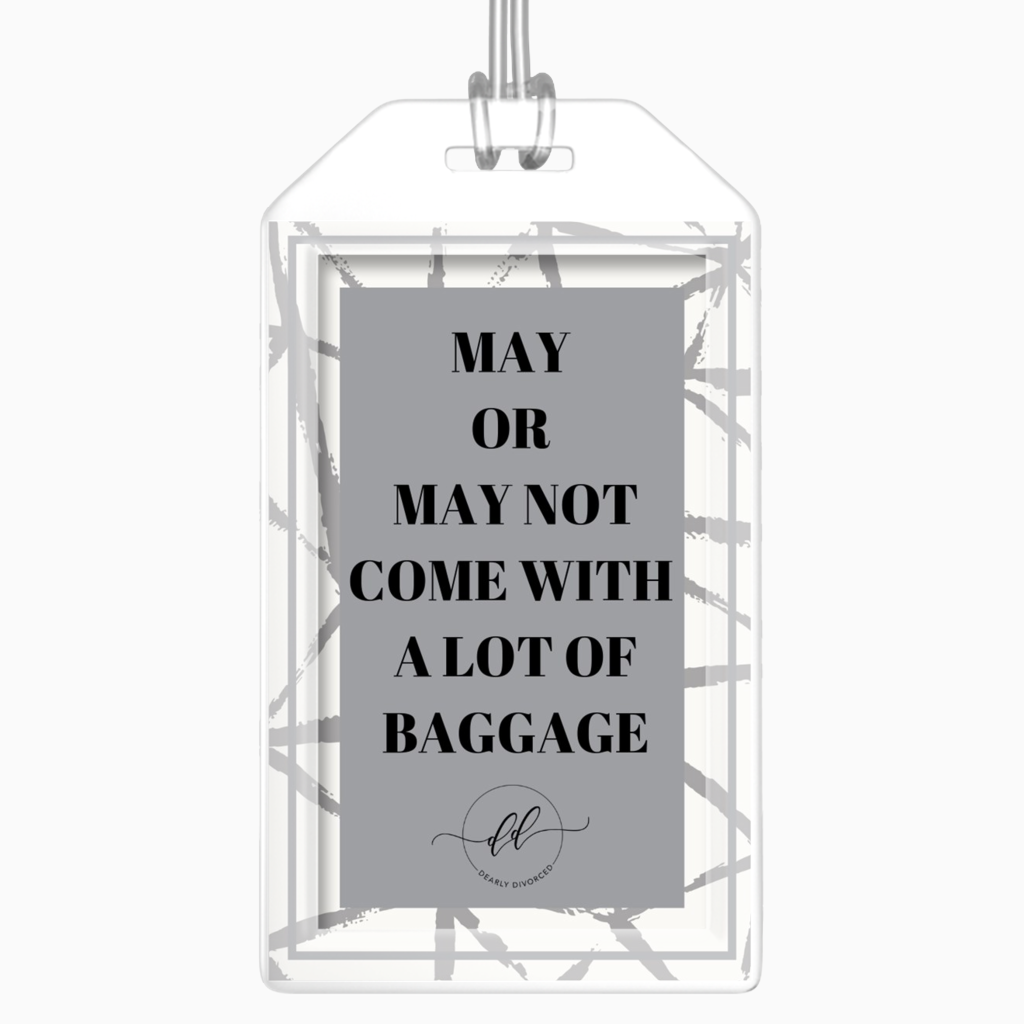 Baggage Luggage Tag - Dearly Divorced
