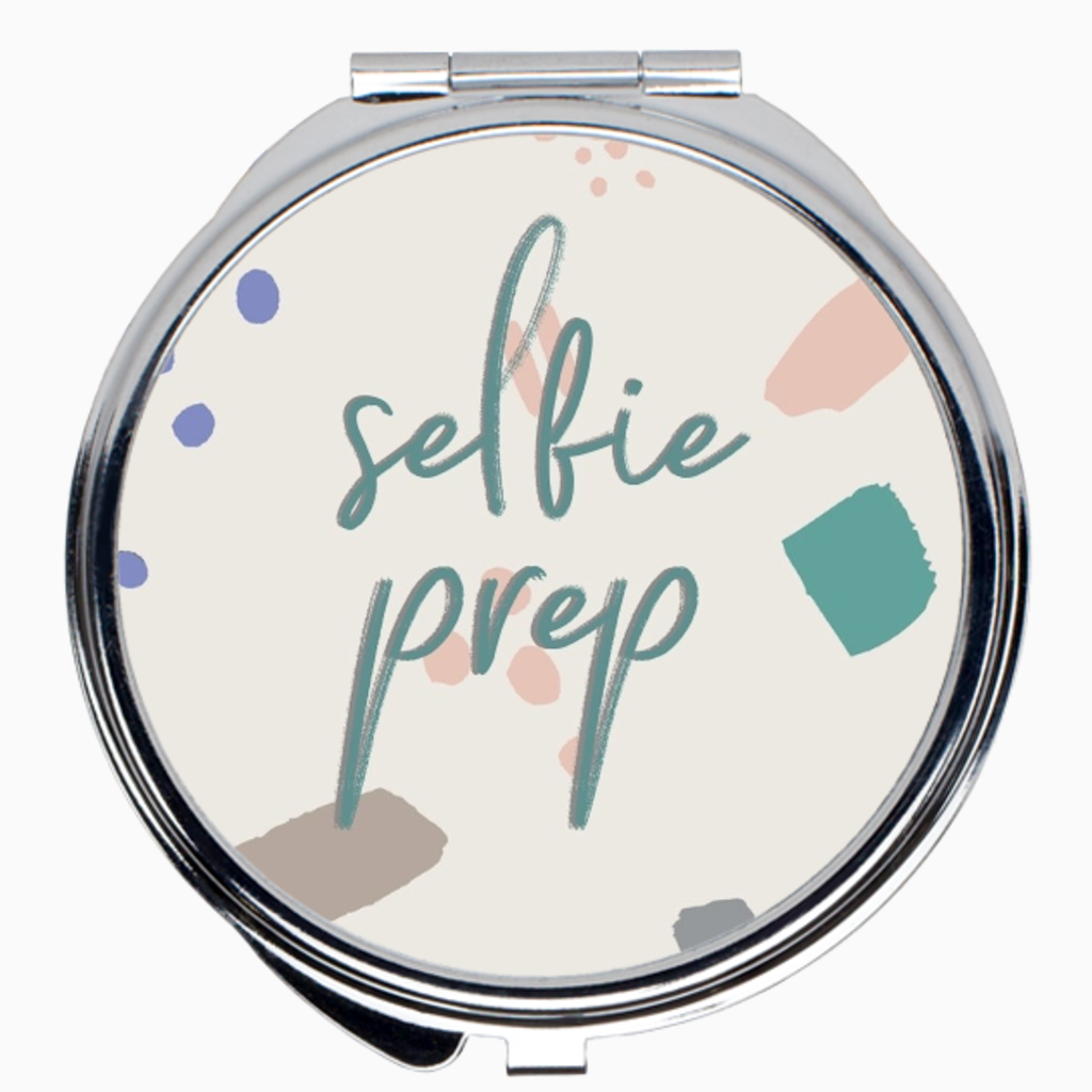 Selfie Prep Compact Mirror - Dearly Divorced