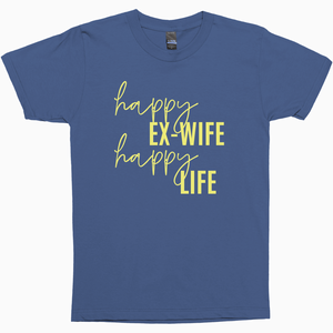 Happy Life Shirt - Dearly Divorced