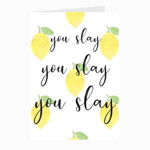 You Slay Card - Dearly Divorced