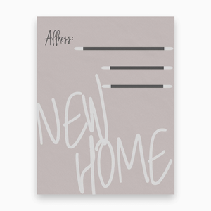 New Home Announcements - Dearly Divorced