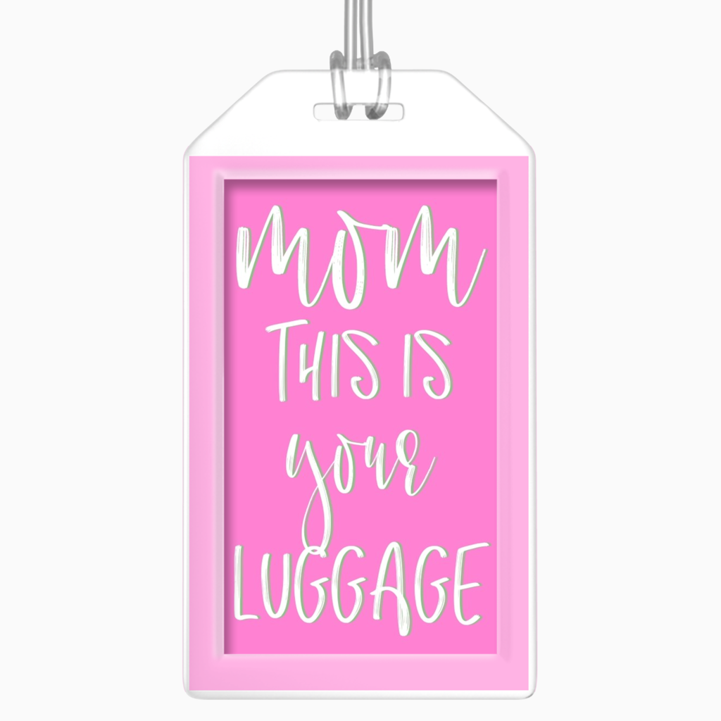 MOM Luggage Tag - Dearly Divorced