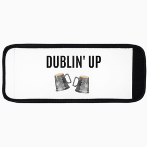 Dublin' Up Velcro Koozie - Dearly Divorced