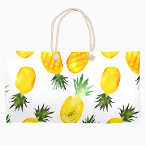 Pineapple Rope Tote - Dearly Divorced