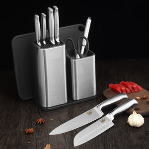 Stainless Steel Knife Block
