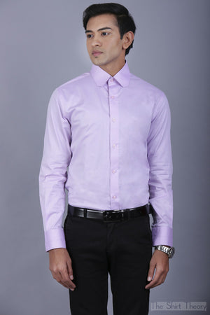 The Luxury Lavender Shirt - theshirttheory